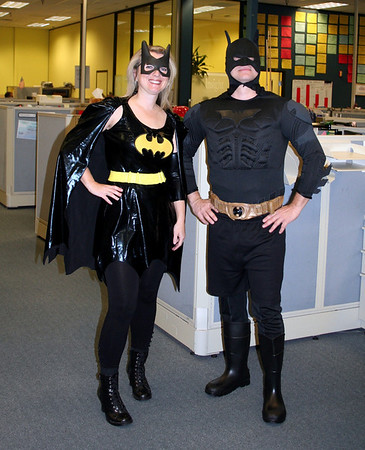 What Batwoman & Batman in the same place?