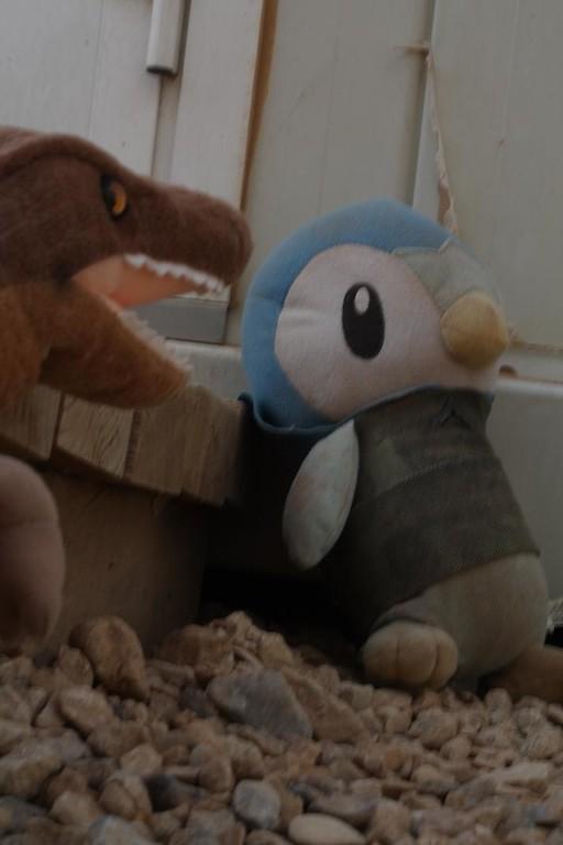 Ah!  It's Reginald the Guard Penguin.  Greetings, mighty Reginald!
