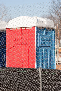 Royal Throne (call 1-866-thrones), Good Luck Road construction project, Lanham, MD, February 2013 (A little hard to read the raised plastic letters close behind the chain link fence!)