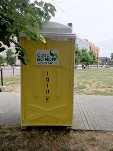 "Gotta GO NOW (different company than ""gotügo"") Chinatown Park, 6th & Massachusetts Ave, Washington, DC, Sept 2019."