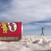 Dancing out of Pringles can