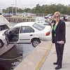 I'm blond, but I know how to park a car!