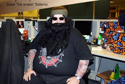 "Dave "" The Snake"" Salerno."