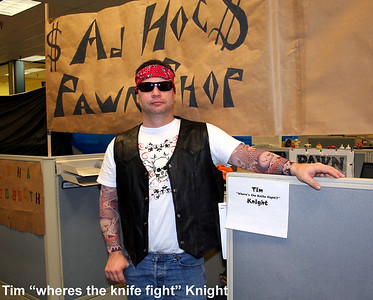 "Tim ""Wheres the knife fight"" Knight."