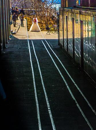 Bride on the Tracks