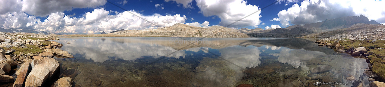Panorama of Desolation Lake taken with my iPhone