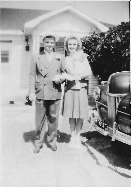 Thomas Calhoun and Edith Joyce Humphries