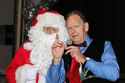 Hundred Club of Mass. -  Christmas Party 2015 with Santa Claus