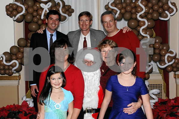 Hundred Club of Massachusetts 2013 Christmas Party with Santa Claus