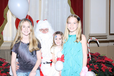 Hundred Club of Massachusetts 2012 Christmas Party with Santa Claus