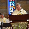 Fr. Bill begins the homily