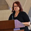 Pam Milczarski of our Province Development Office does the first reading. She had worked with Fr. Paul for many years.