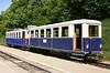 Trailer & diesel railcar ABa Mot 2, Szepjuhaszne, Budapest Children's Railway, 4 May 2018 1.