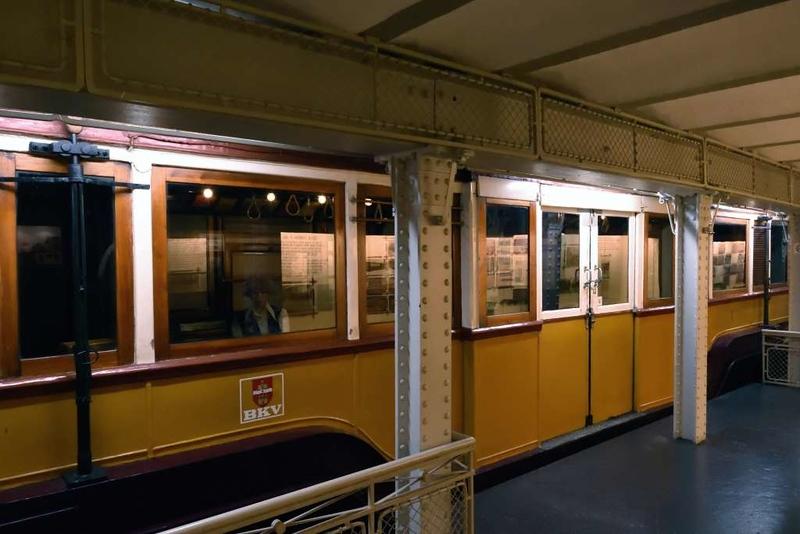 BKV 1, Underground Railway Museum, Deak Ferenc ter station, Budapest, 9 May 2018 4.   BKV = Budapest Transport Company.