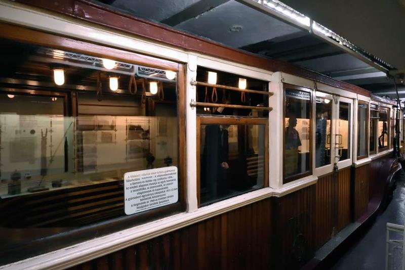 FJFVV 19, Underground Railway Museum, Deak Ferenc ter station, Budapest, 9 May 2018 3.
