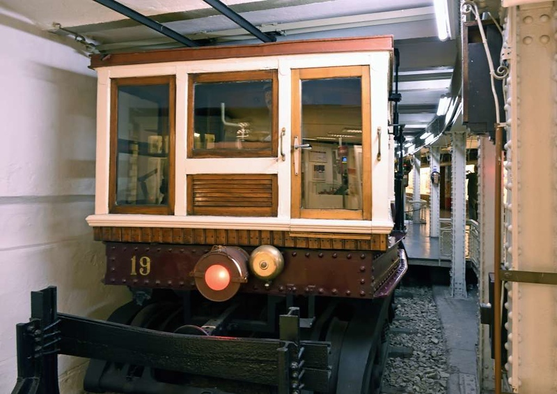FJFVV 19, Underground Railway Museum, Deak Ferenc ter station, Budapest, 9 May 2018 1.  Here are five views of this railcar.  As can be seen, the museum occupies a curved, disused track.