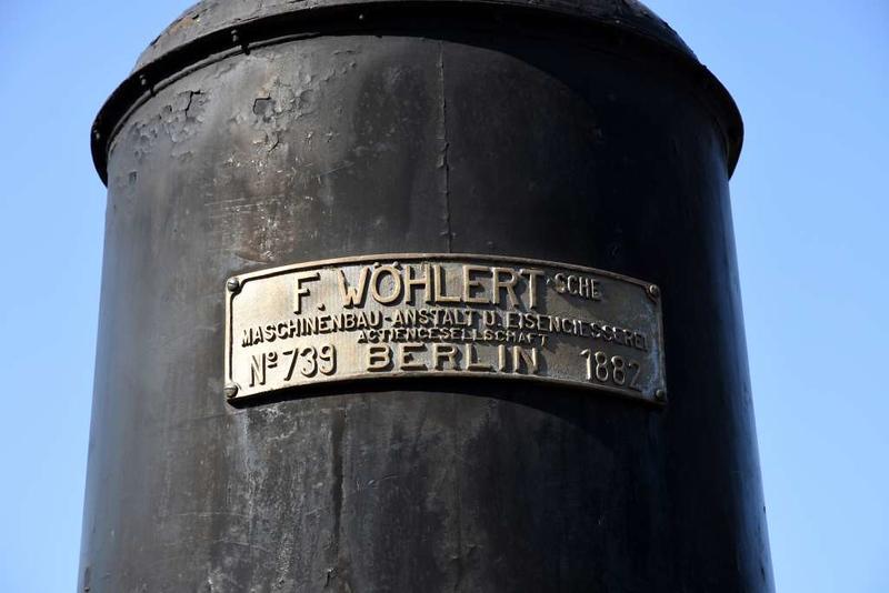 Sarvar sugar mill 0-6-0 1026 (MAV 341.012), Hungarian Railway Museum, Budapest, 6 May 2018 3.