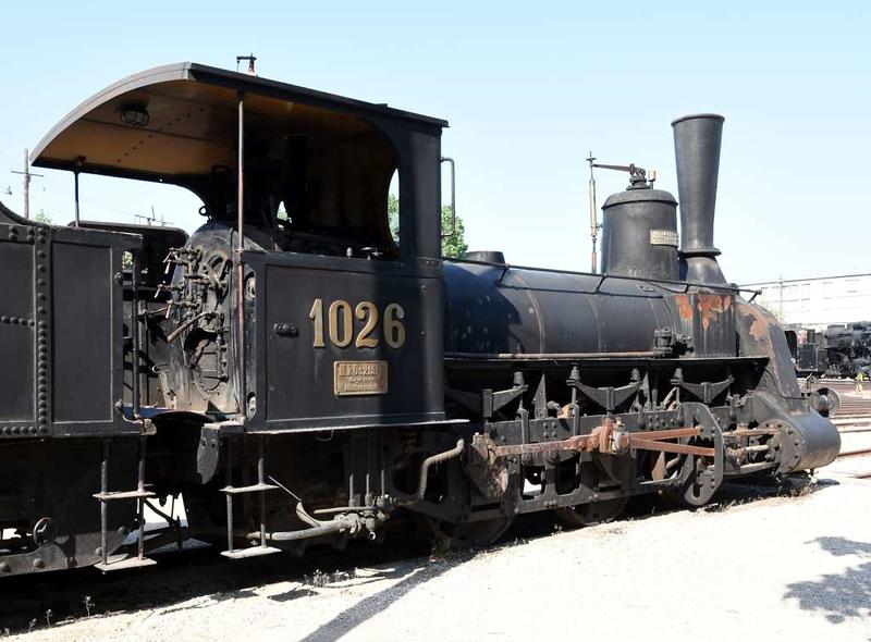 Sarvar sugar mill 0-6-0 1026 (MAV 341.012), Hungarian Railway Museum, Budapest, 6 May 2018 2.