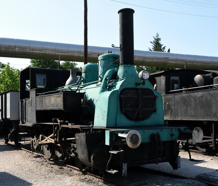 KkStb 0-6-0T 480, Hungarian Railway Museum, Budapest, 6 May 2018. Built in Vienna by the State Railway Company (1756 / 1883).