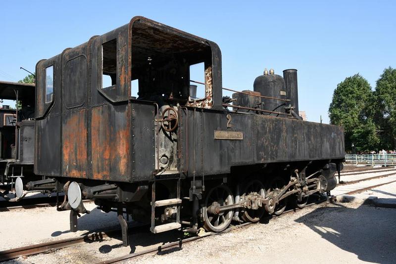 Garam Valley sugar mill 0-8-0T No 2, Hungarian Railway Museum, Budapest, 6 May 2018 1.