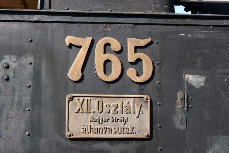 MAV 0-6-0T 765, Hungarian Railway Museum, Budapest, 6 May 2018 3.