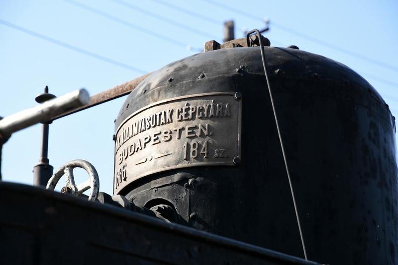 MAV 0-6-0T 765, Hungarian Railway Museum, Budapest, 6 May 2018 4.  Budapest Loco Works 184 / 1886.