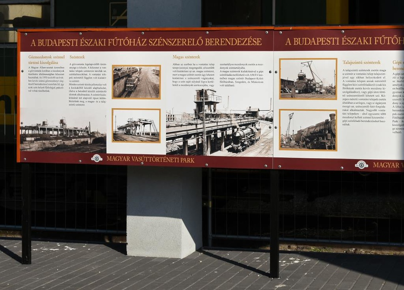 Hungarian Railway Museum, Budapest, 6 May 2018 2.   This display recalls the depot at work.