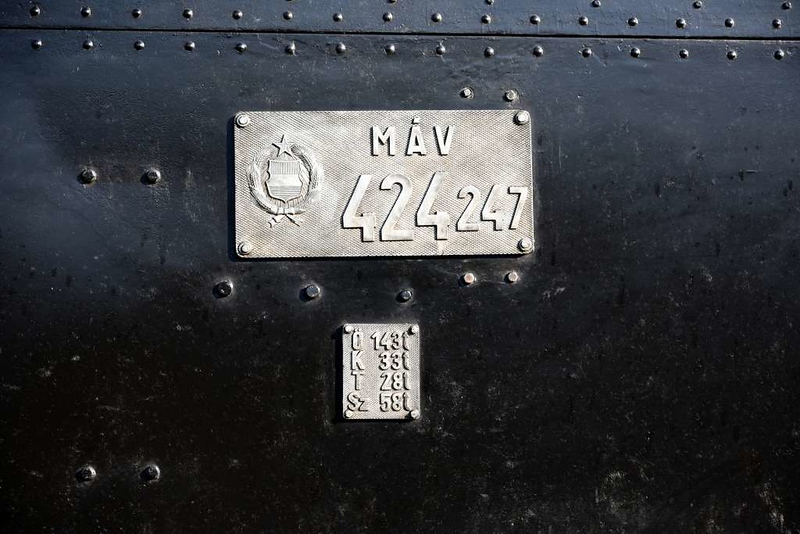 MAV 424.247, Nyugati station, Budapest, Sun 6 May 2018 2.