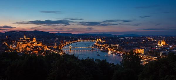 Budapest from Gellert Hill