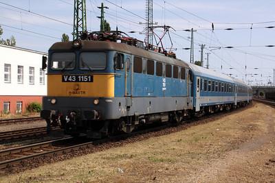 V43 1151 Budapest Ferencvaros 090809
