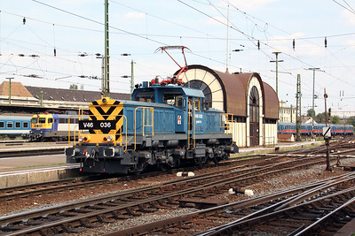 V46 036 at Budapest Keleti Pu on 9th August 2009 (3)