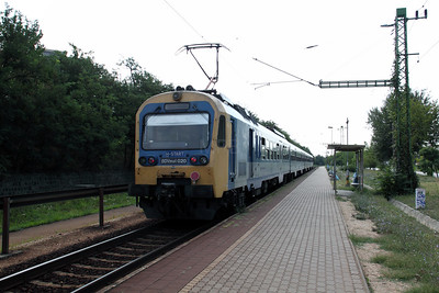BDVmot 020 at Pesterzsebet on 9th August 2009