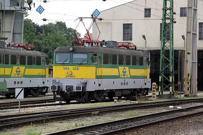 GySEV, V43 326 Sopron 060809