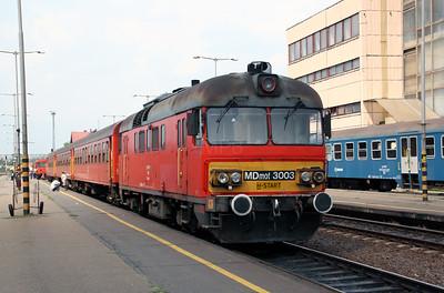 MDmot 3003 at Mateszalka on 11th August 2009