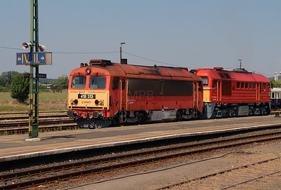 418 313 (92 55 0418 313-6 H-START) at Tapolca on 9th August 2015 (2)