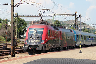 GySEV, 470 503 (91 43 0470 503-3 H-GYSEV) at Budapest Kelenfold on 7th August 2015 (1)