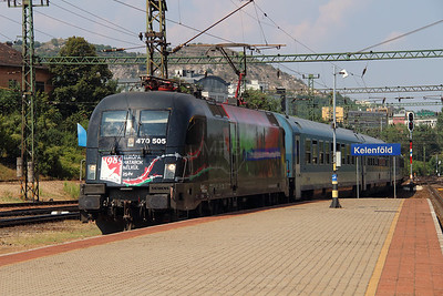 GySEV, 470 505 (91 43 0470 505-8 H-GYSEV) at Budapest Kelenfold on 7th August 2015 (2)