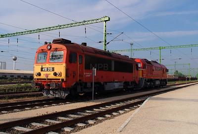 418 313 (92 55 0418 313-6 H-START) at Szekesfehervar on 9th August 2015