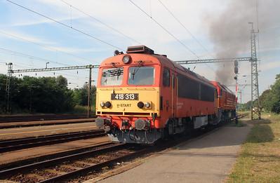418 313 (92 55 0418 313-6 H-START) at Szabadbattyan on 9th August 2015 (2)