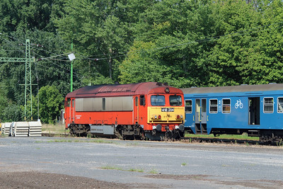 418 204 (92 55 0418 204-7 H-START) at Keszthely on 8th August 2015 (1)