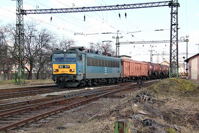 V63 017 at Pusztasabolcs on 7th March 2011