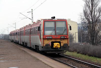 6341 032 at Budapest Zuglo on 3rd March 2011 working IR7206, 1528 Budapest Nyugati to