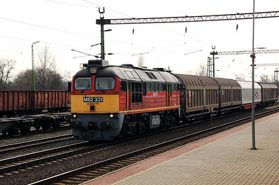 M62 331 at Soroksar on 2nd March 2011