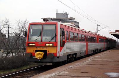 6341 004 at Budapest Zuglo on 3rd March 2011 working IR7206, 1528 Budapest Nyugati to