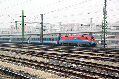 1116 016 at Budapest Kelenfold on 28th February 2011