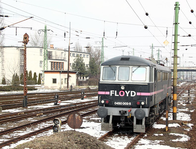 2) Floyd, 0450 002 at Szolnok Depot on 1st March 2011