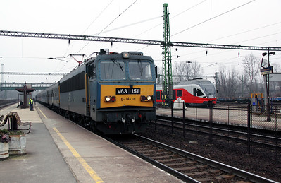 V63 151 at Tatabanya on 28th February 2011