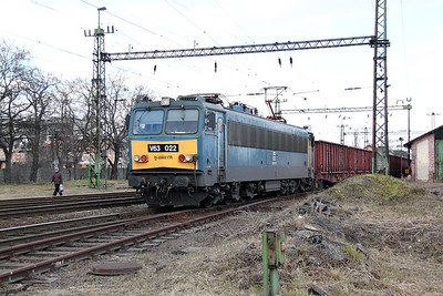 V63 022 at Pusztasabolcs on 7th March 2011