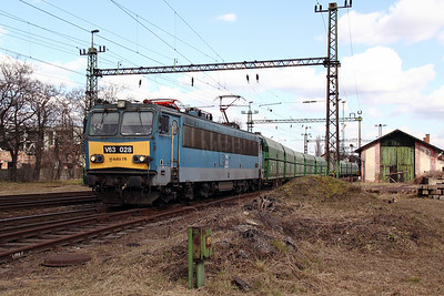 V63 028 at Pusztasabolcs on 7th March 2011