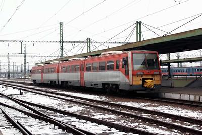 6341 023 at Szolnok on 1st March 2011 working 7232, 1055 Szolnok to Szentes